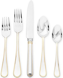 Ricci Ascot Gold 5-Piece Place Setting