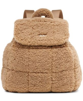 DKNY 뽀글이 백팩 Poppy Sherpa Backpack