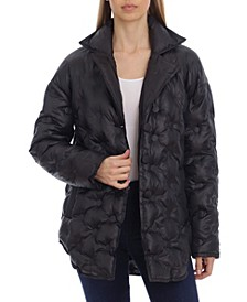 Water-Resistant Cushion Quilted Coat