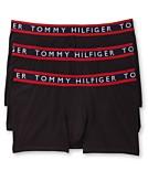 Tommy Hilfiger Mens 3 Pack Cotton Stretch Trunks