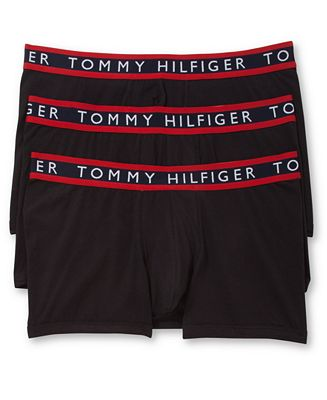 Tommy Hilfiger Men's 3 Pack Cotton Stretch Trunks