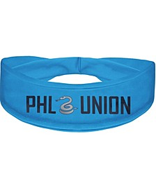 Light Blue Philadelphia Union Alternate Logo Cooling Headband