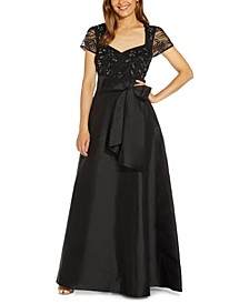 Embellished Top Ball Gown