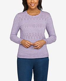 Plus Size Classics Crew Neck Cashmelon Sweater