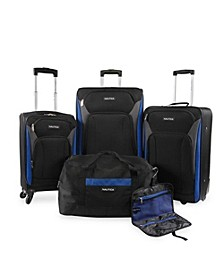 Open Seas Collection 5pc Softside Luggage Set