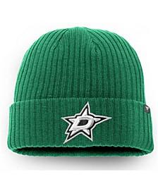 Men's Kelly Green Dallas Stars Core Primary Logo Cuffed Knit Hat