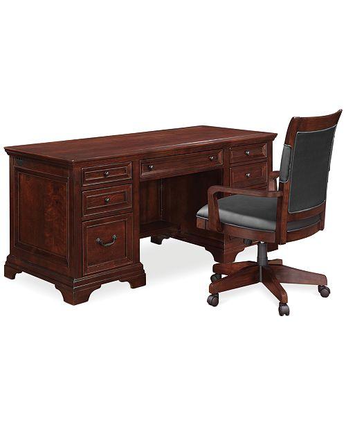 Marvelous Furniture Cambridge Home Office Furniture 2 Piece Set Home Interior And Landscaping Transignezvosmurscom