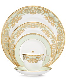 Marchesa by Lenox Rococo Leaf 5-Piece Place Setting
