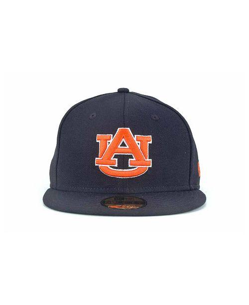 New Era Auburn Tigers 59FIFTY Cap - Sports Fan Shop By Lids - Men ... 8e38abfbda30