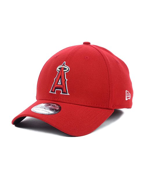 buy popular 45413 cf5c9 ... New Era Los Angeles Angels of Anaheim MLB Team Classic 39THIRTY  Stretch-Fitted Cap ...