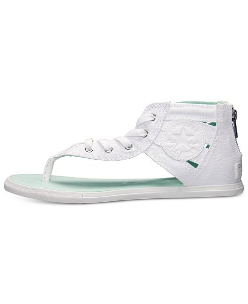 518daf04393 ... Converse Women s Chuck Taylor Gladiator Thong Sandals from Finish ...