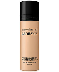 bareMinerals bareSkin Pure Brightening Serum Foundation, 1oz