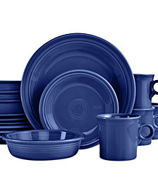 Fiesta 16-Piece Cobalt Set, Service for 4