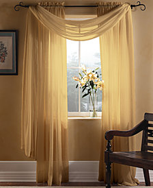 "Miller Curtains Sheer Preston Rod Pocket 51"" x 108"" Panel"