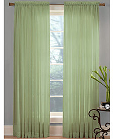 "Miller Curtains Sheer Angelica Voile 59"" x 108"" Panel"