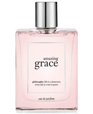 philosophy amazing grace eau de parfum, 4 oz