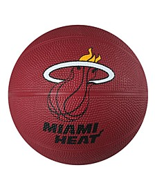 Miami Heat Size 3 Primary Logo Basketball