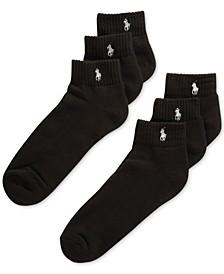 Classic Quarter Socks 6 Pairs