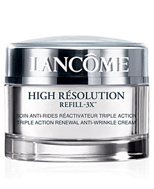 Lancôme High Résolution Refill-3X Anti-Wrinkle Moisturizer Cream SPF 15, 1.7 oz