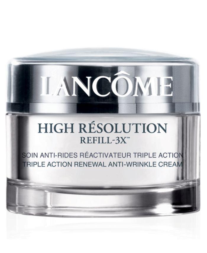 Lancôme High Résolution Refill-3X Anti-Wrinkle Moisturizer Cream SPF 15, 1.7 oz & Reviews - Skin Care - Beauty - Macy's
