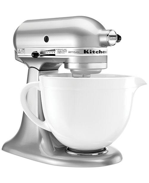Kitchenaid Stand Mixer 5 Qt Ceramic Bowl Small