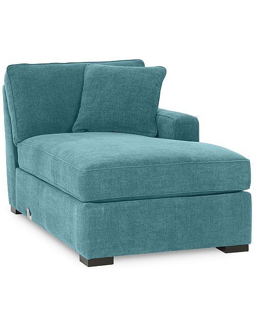Furniture Radley Fabric Left Arm-Facing Corner Chaise: Custom Colors