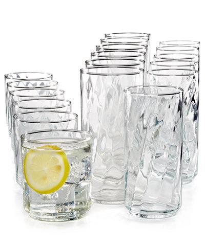 Luminarc Rumba 18 Pc Glassware Set Glassware