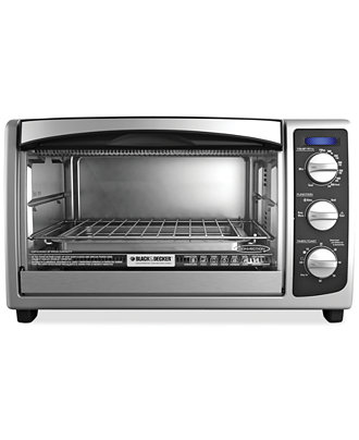 Black and Decker TO1675B Convection Countertop Oven - Electrics ...