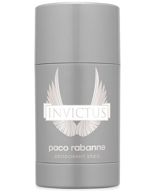 Paco Rabanne Men's Invictus Deodorant Stick, 2.2 oz