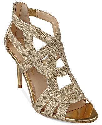 a9bf869495b Marc Fisher Nala Mid Heel Evening Sandals & Reviews - Sandals ...