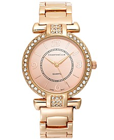 Women's Rose Gold-Tone Bracelet Watch 35mm