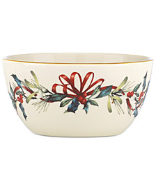 "Lenox Winter Greetings 5"" Bowl"