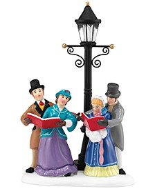 Dickens' Village Caroling By Lamplight Collectible Figurine