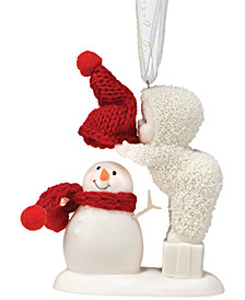 Department 56 Snowbabies Top it Off Ornament