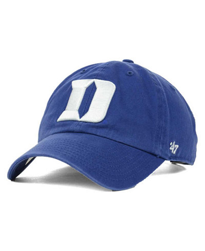 '47 Brand Duke Blue Devils Clean-Up Cap
