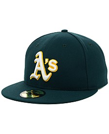 New Era Oakland Athletics MLB Authentic Collection 59FIFTY Fitted Cap