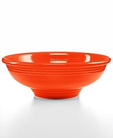 Fiesta Poppy 64 oz Pedestal Bowl