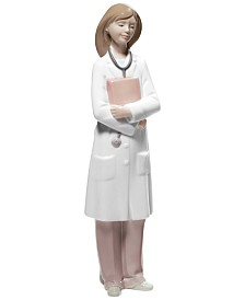 Nao by Lladro Female Doctor Collectible Figurine