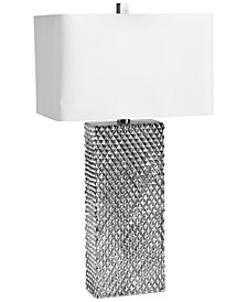 Regina Andrew Design Platinum Column Table Lamp