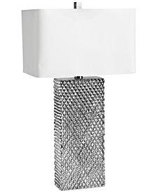 Regina Andrew Design Platinum Column Table Lamp