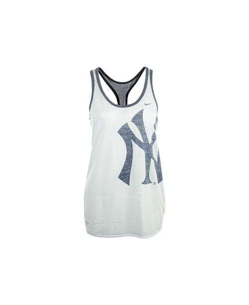 51dadfc71a1f59 Nike Women s New York Yankees Loose Dri-FIT Tank Top   Reviews ...