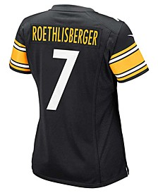 Women's Ben Roethlisberger Pittsburgh Steelers Game Jersey