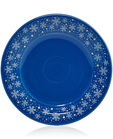 "Snowflake 9"" Luncheon Plate, Created for Macy's"