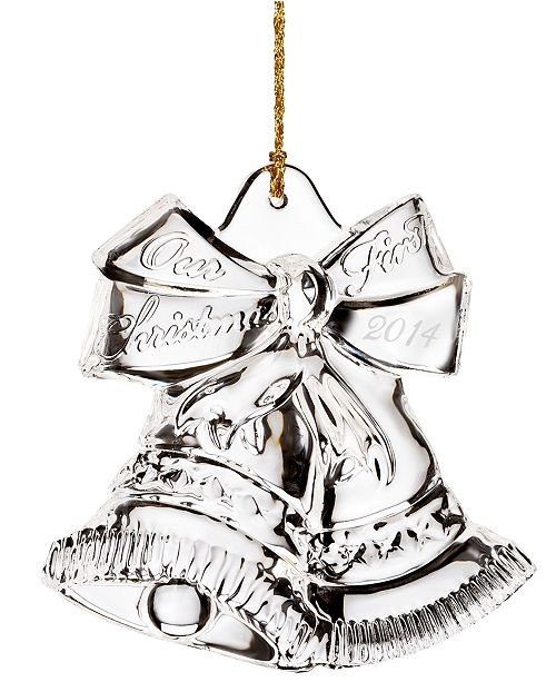 Marquis by Waterford 2014  Our First Christmas Ornament