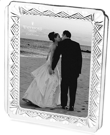 Waterford gifts wedding heirloom frame 8 x 10 macy for Best stores for wedding registry