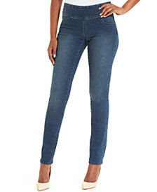 Style & Co Petite Stretch Slim-Leg Jeans, Created for Macy's
