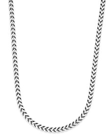 Sutton by Rhona Sutton Men's Stainless Steel Curb-Link Chain Necklace