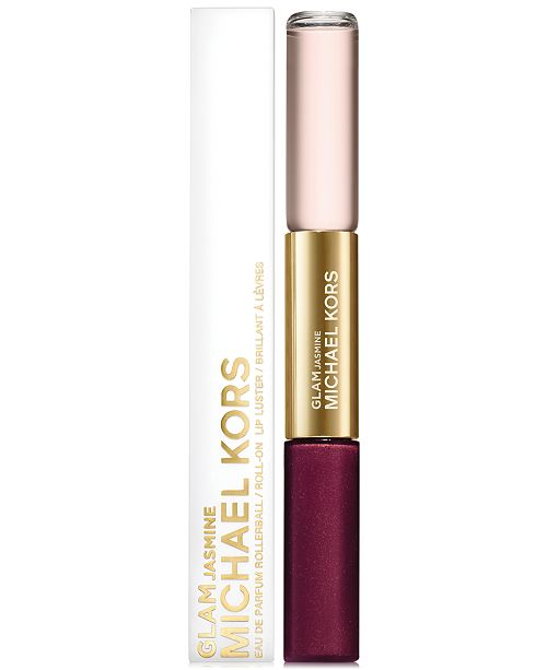 Michael Kors Collection Glam Jasmine Rollerball & Lip Luster Duo