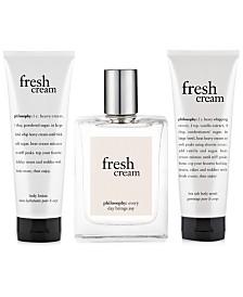 philosophy fresh cream eau de toilette fragrance collection