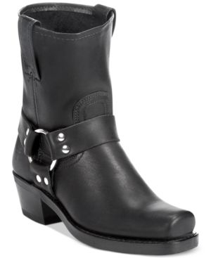 Women'S Harness 8R Boots Women'S Shoes, Black